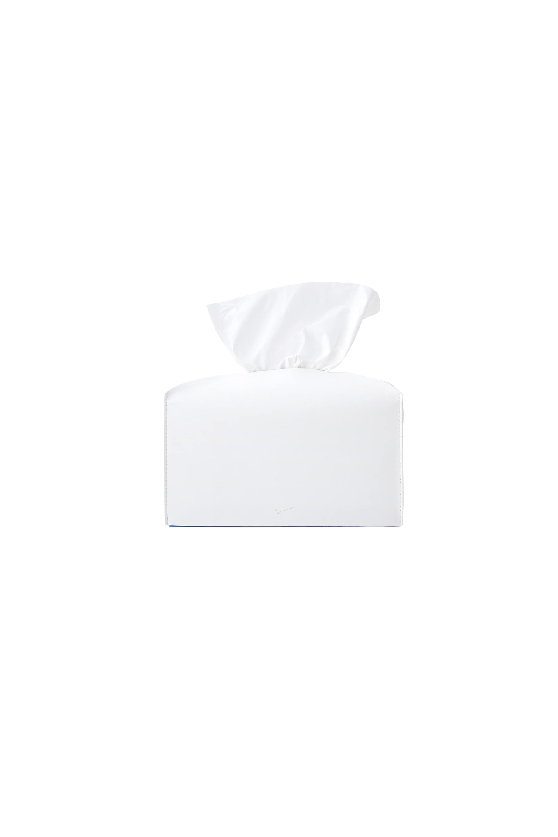 TISSUE CASE L 23 White