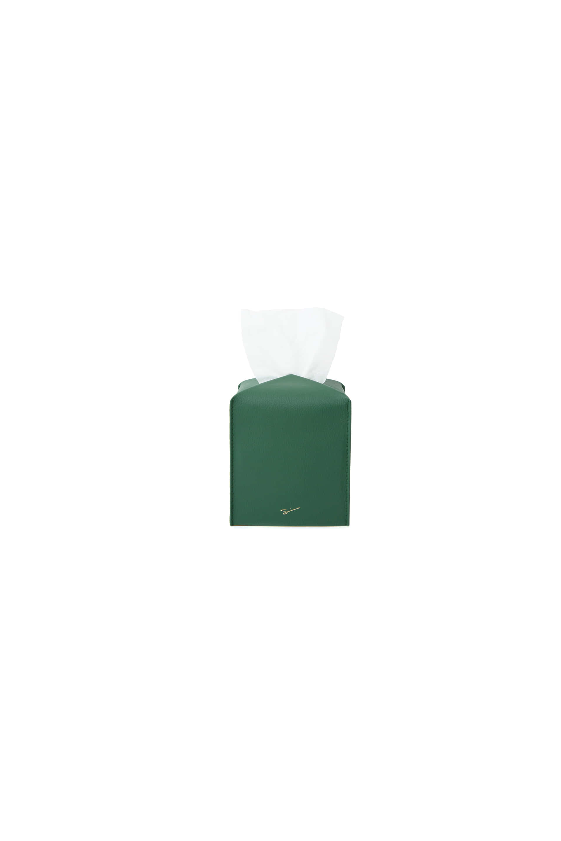 TISSUE CASE S 12 Deep Green