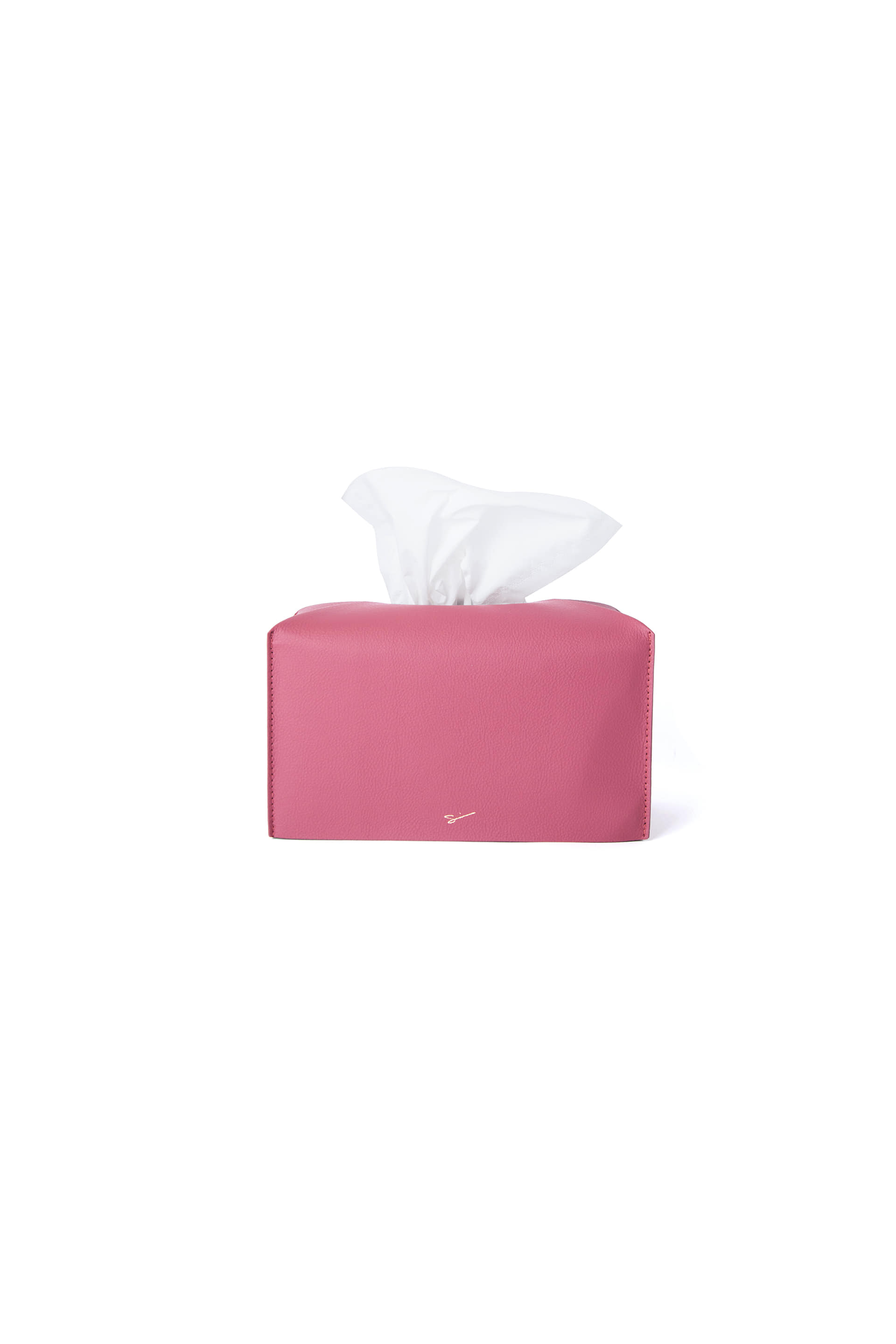 TISSUE CASE L 05 Cherry Pink