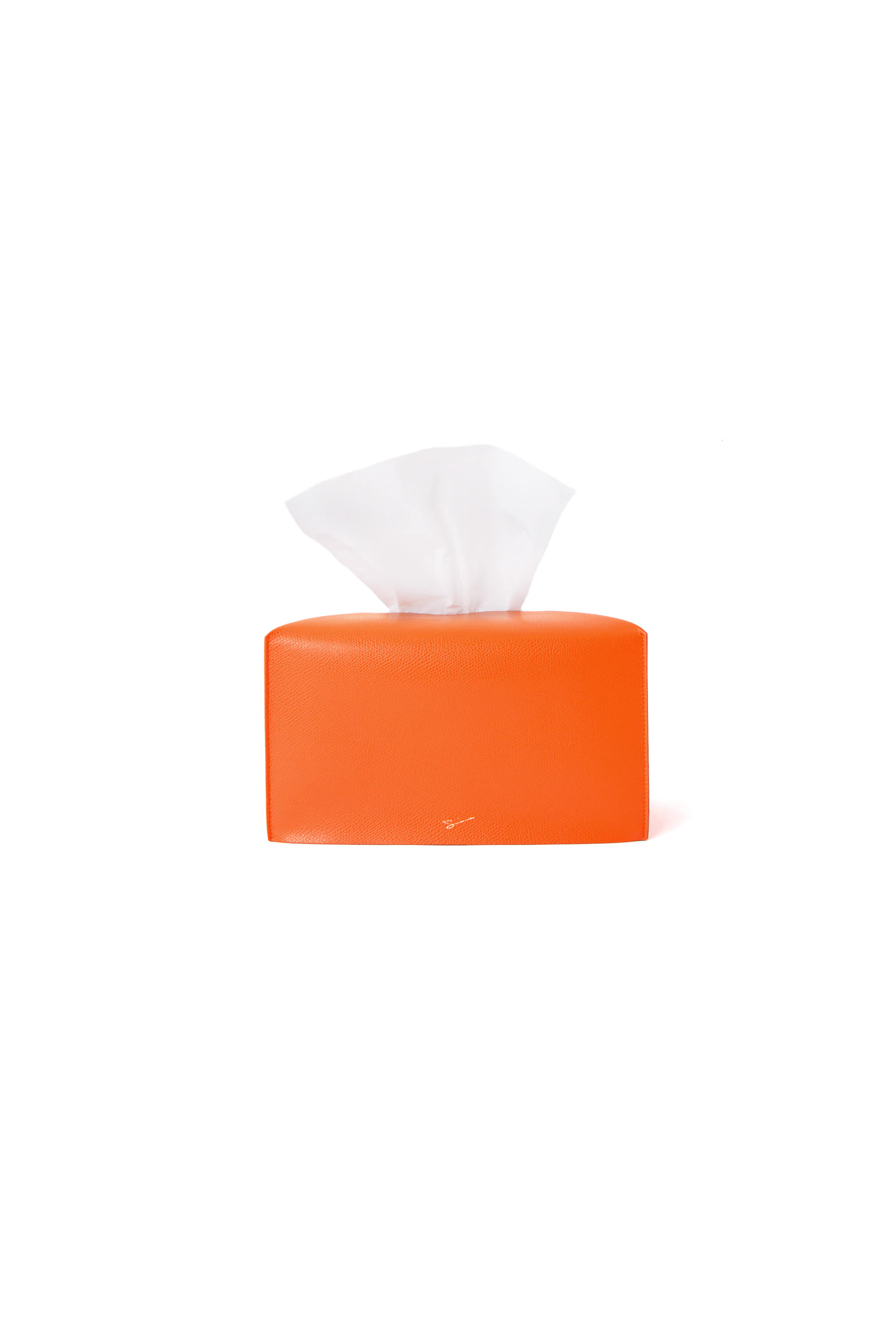 TISSUE CASE L 28 Henri Orange